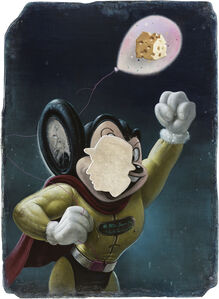Kuo Wei-Kuo, 'Mighty Mouse's Maasdam Cheese', 2019
