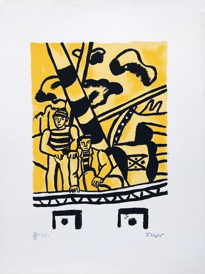 Fernand Léger, 'Le Remorqueur Jaune', 1959