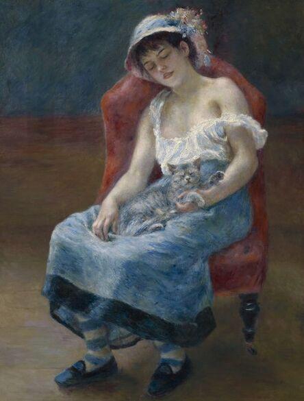 Pierre-Auguste Renoir, 'Sleeping Girl', 1880