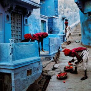Steve McCurry, 'Jodhpur Fruit Vendor, India', 1996