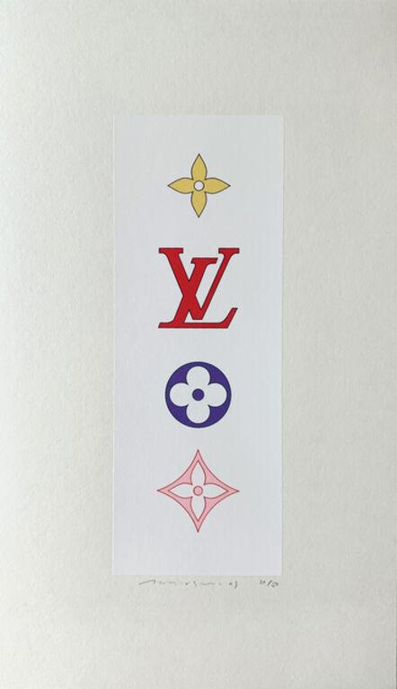 Takashi Murakami, 'Superflat Colorful Monogram', 2001