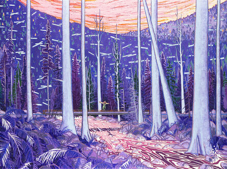 Kyle Scheurmann, 'The River Flowed With The Blood Of The Forest', 2021