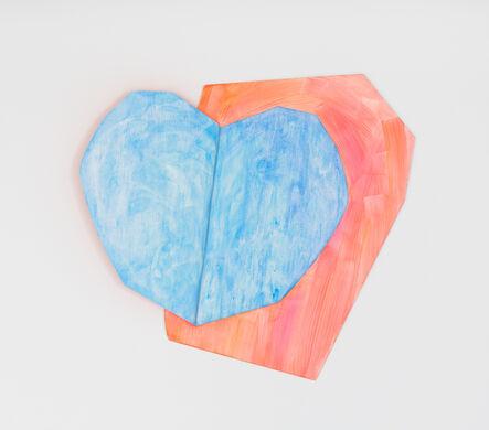Wonwoo Lee, 'Light heart (blue)', 2017