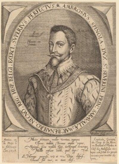 Christoffel van Sichem I, 'Ambrosius Spinola'