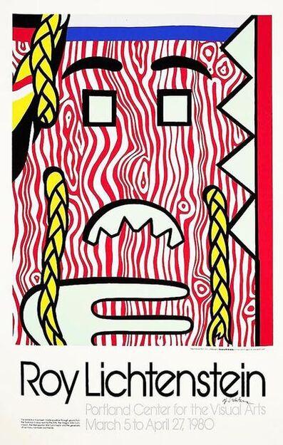 Roy Lichtenstein, 'Head with Braids Poster', 1980