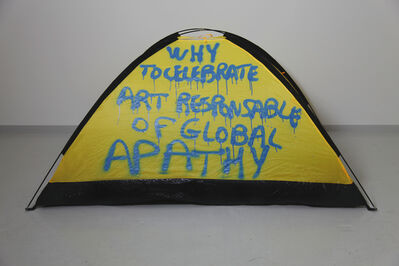 Thierry Geoffroy /COLONEL, 'WHY CELEBRATE ART RESPONSIBLE OF GLOBAL APATHY', 2017