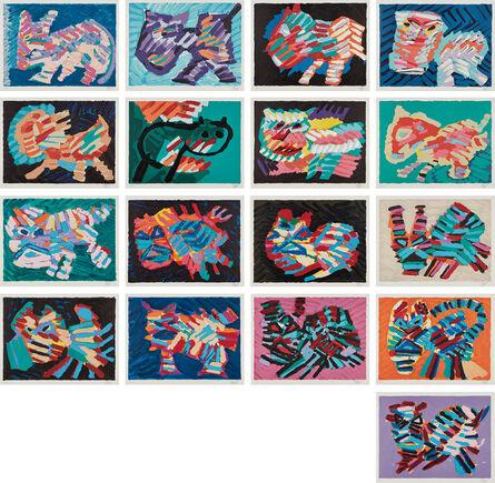 Karel Appel, 'Cats', 1979