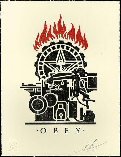 Shepard Fairey, 'Obey Printing Press - Letterpress ', 2018