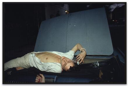 Nan Goldin, 'French Chris on the Convertible, NYC', 1979