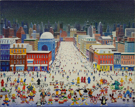 Zhang Gong, 'First Snow in New York', 2011