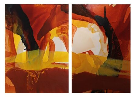 Linda Celestian, 'Iron Oxide Hills'