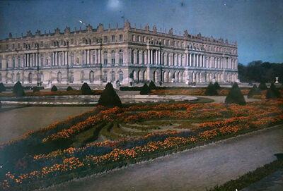 Auguste et Louis Lumiere, 'Le château de Versailles'