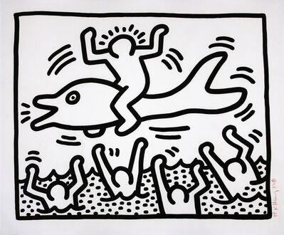 Keith Haring, 'Untitled', 1987