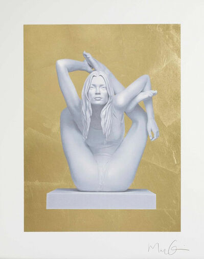 Marc Quinn, 'Kate Moss on Gold', 2012