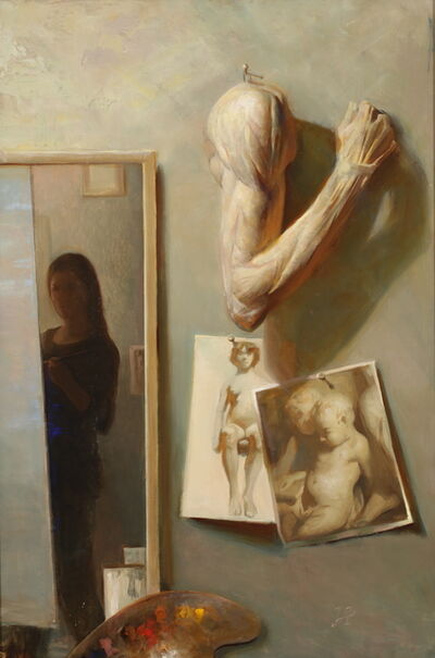 Juliette Aristides, 'Studio Wall', 2017