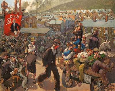 Kevin Sinnott, '1926 Miners' Lock-Out', 2016
