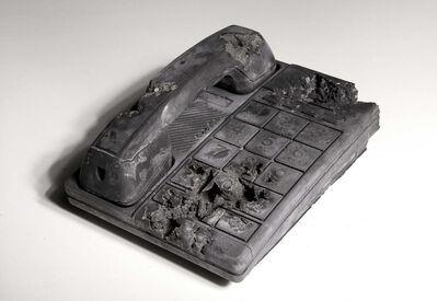 Daniel Arsham, 'Ash Eroded Conair Phone', 2014