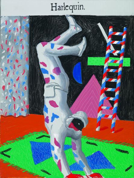 David Hockney, 'Harlequin [Arlequin]', 1980