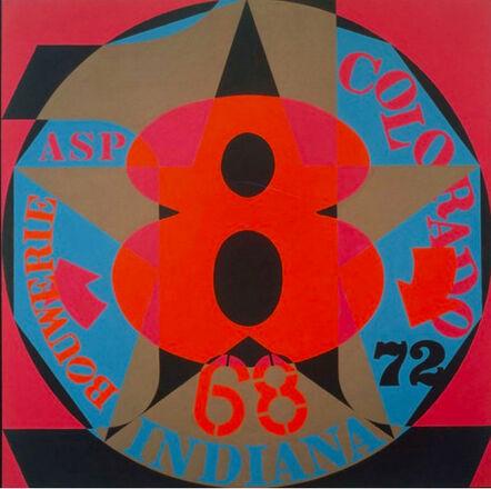 Robert Indiana, 'Decade Autoportrait '68', 1976