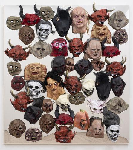 Dale Frank, 'Panadeine Forte Demons', 2017