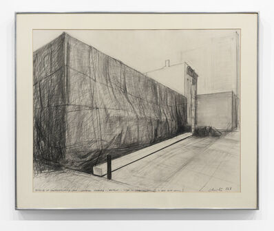 Christo, 'Museum of Contemporary Art - Chicago Packed (Project)', 1968