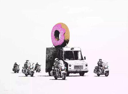 Banksy, 'Donut (Strawberry) (Signed)', 2009