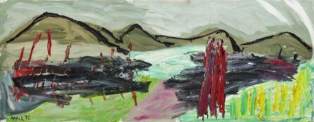 Karel Appel, 'Horizon of Tuscany no. 18', 1995