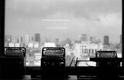 """Facundo de Zuviría, 'From the series """"Estampas Porteñas"""",  """"View from the office, Centro Cultural San Martín""""', 1987"""
