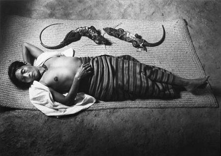 Flor Garduño, 'Mujer que sueña', 1991