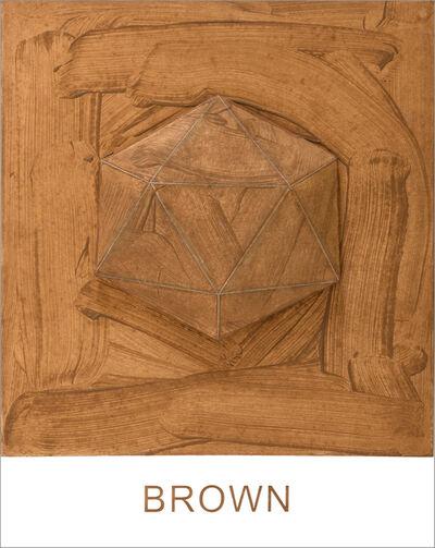 John Baldessari, 'Eight Colorful Inside Jobs: Brown', 2017