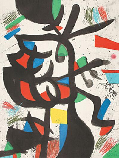 Joan Miró, 'La marchande de couleurs (Die Farbenhändlerin)', 1981