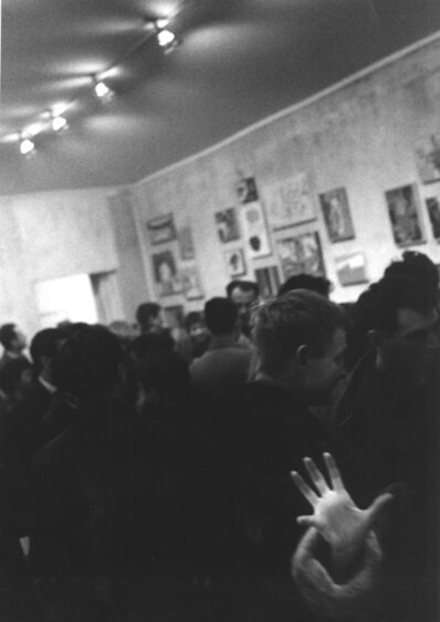 John Cohen, 'Opening at Tanager Gallery', 1959