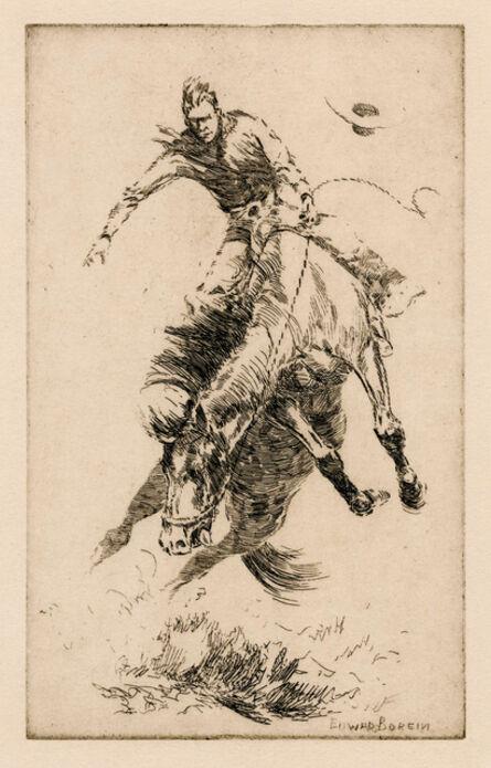 Edward Borein, 'New Bucking Horse', ca. 1916
