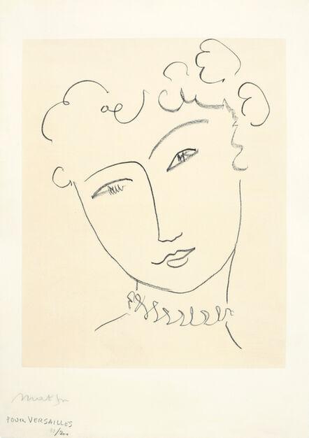 """Henri Matisse, 'La Pompadour (""""Pour Versailles"""")', 1951"""