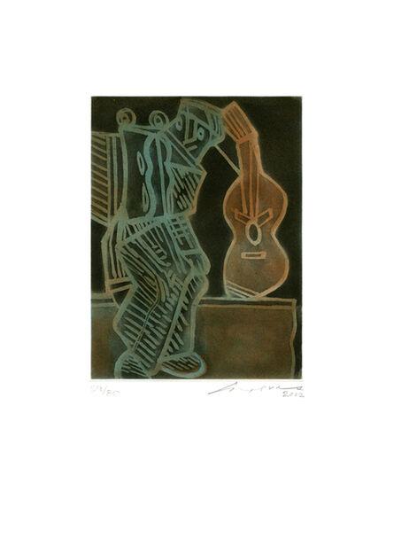 Jose Luis Cuevas, 'Guitarra', 2002