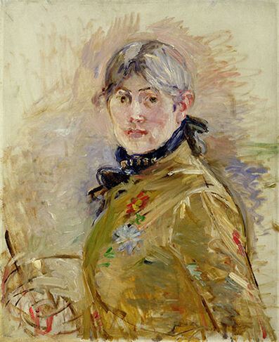 Berthe Morisot, 'Self-Portrait', 1885