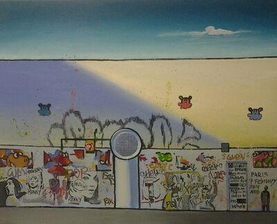 Julia Malinina, 'Graffiti Series. Paris. 7 february. ', 2014