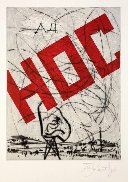 William Kentridge, 'Nose 22', 2009