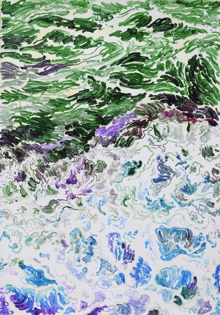 Zhang Zhenxue 张振学, 'Water Phase Practice 02 水相的习作 02', 2015