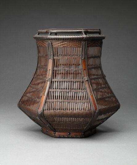 Wada Waichisai III, 'Flower Basket', Late 1940s-1972