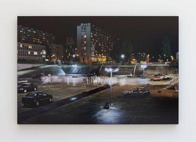 JR, '28 Millimètres, Portrait of a generation, Les Bosquets, Confrontation, Montfermeil, France', 2014