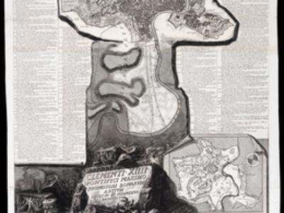 Giovanni Battista Piranesi, 'Pianta di Roma e del Campo Marzio', 1774