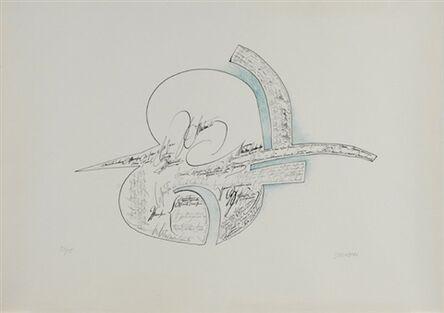 Saul Steinberg, 'Speech', 1960