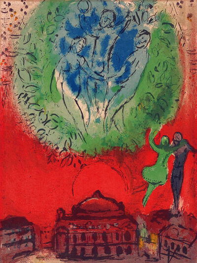 Marc Chagall, 'The Opera', 1954
