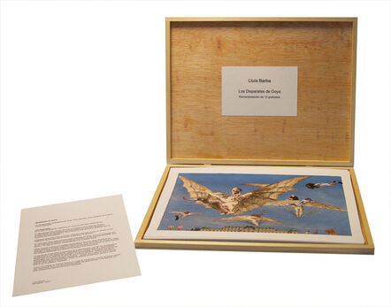 Lluis Barba, 'Los Disparates, Goya. Box of 12 lithopgraphs.', 2020