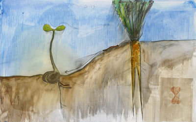 Fabrice Hyber, 'Potager d'amour', 2008
