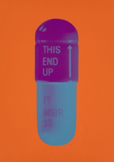 Damien Hirst, 'The Cure - Bright Orange/Orchid/Air Force Blue', 2014