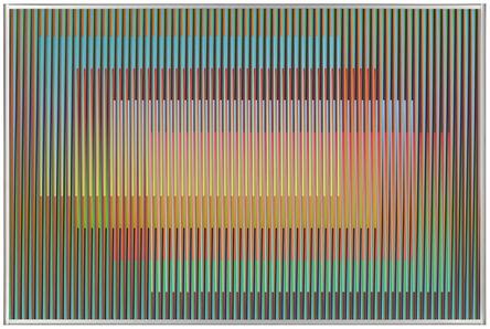 Carlos Cruz-Diez, 'Physichromie 1738 - peça única', 2011