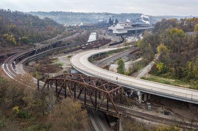 Andrew Borowiec, 'Bradock from US 30, Pennsylvania, 2012', 2012