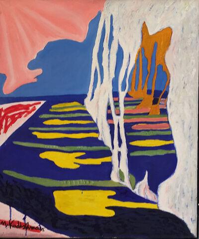 Menashe Kadishman, 'Clothes lines', 1970-1980